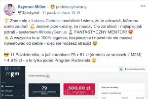 Łukasz Cichocki MoneyGenius