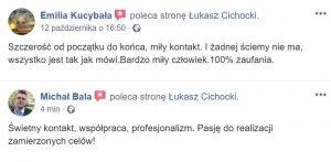 Łukasz Cichocki opinie