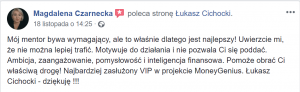 Łukasz Cichocki - opinie