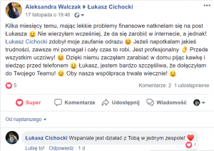 Łukasz Cichocki - opinie2