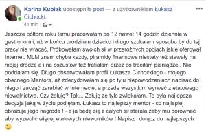 Łukasz Cichocki opinia