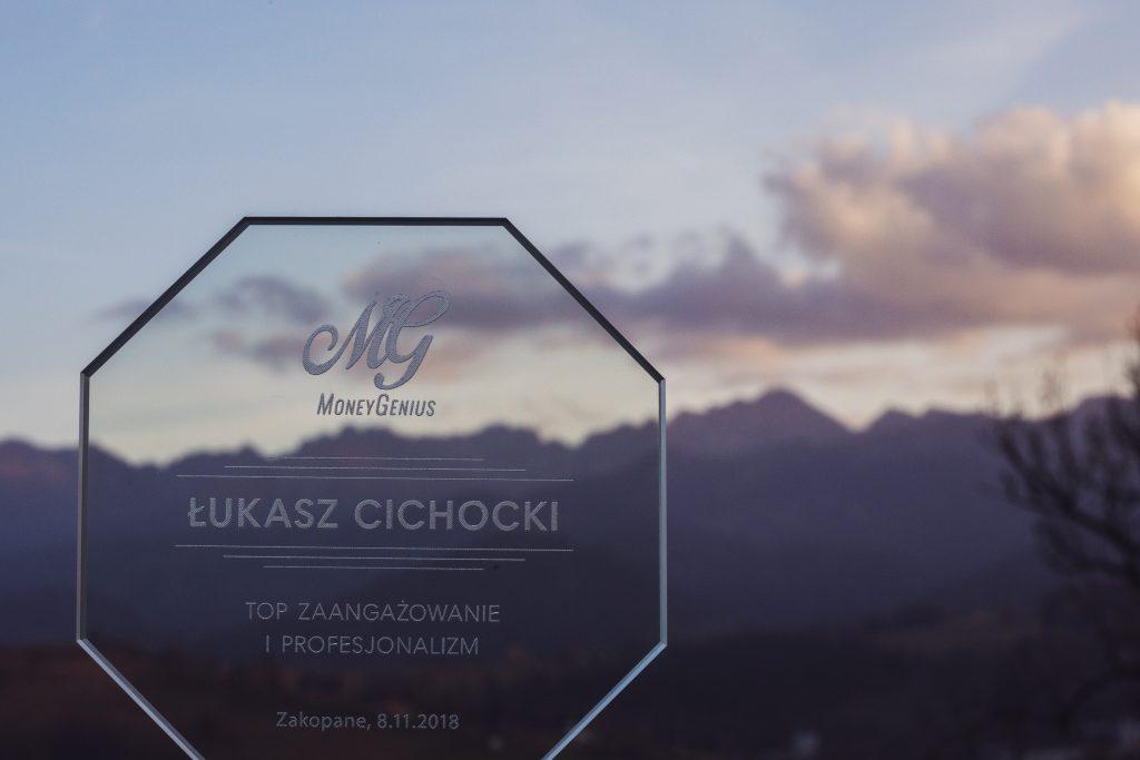 Łukasz Cichocki - TOP zaangażowanie i profesjonalizm MoneyGenius
