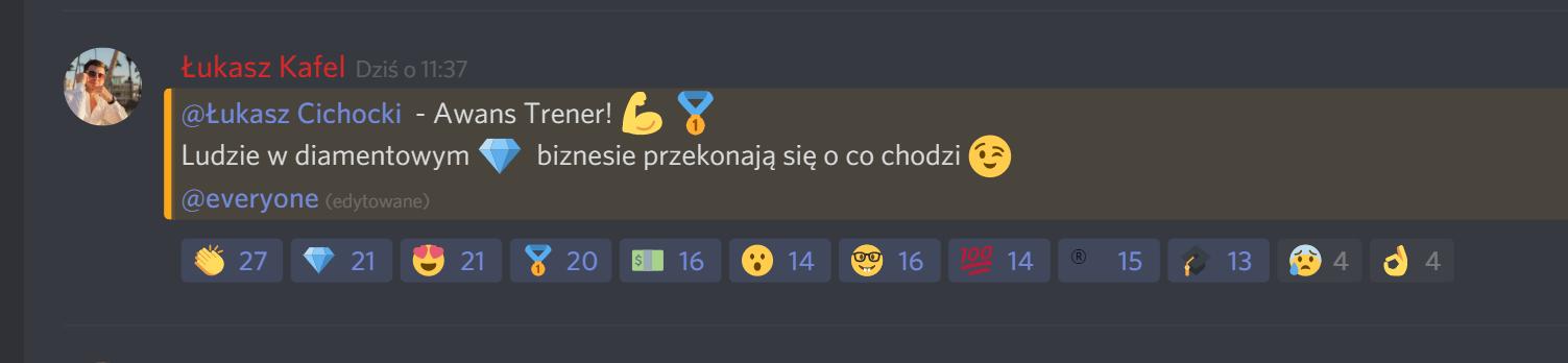 Łukasz Kafel ogłasza Łukasza Cichockiego Trenerem MoneyGenius