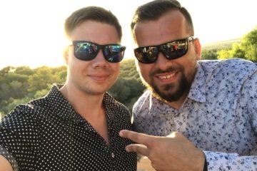 Łukasz Cichocki i Paweł Konop na Majorce