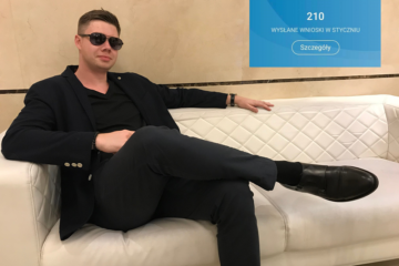 Łukasz Cichocki odnosi sukces za sukcesem i uczy tego innych