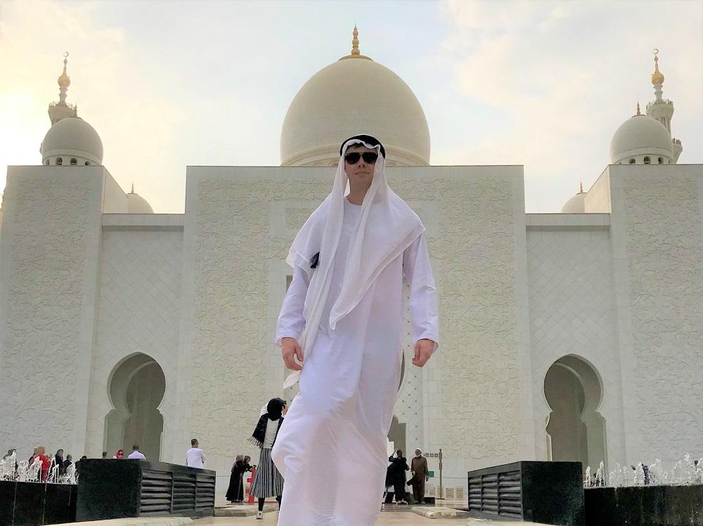 Łukasz Cichocki w Abu Dhabi