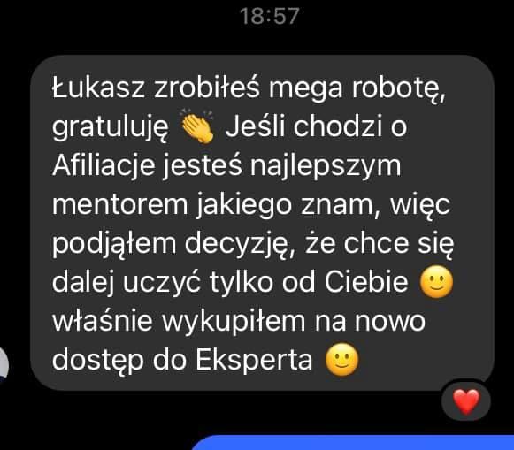 Łukasz Cichocki to najlepszy Mentor