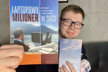 Łukasz Cichocki poleca książki biznesowe i rozwojowe, które odmieniły jego życie