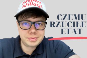 Łukasz Cichocki rzucił etat